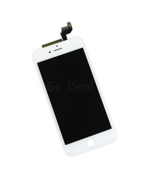 For Apple iPhone 6S Digitizer and LCD Screen Assembly with Frame Replacement - White