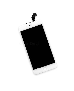 For Apple iPhone 6 Plus Digitizer and LCD Screen Assembly with Frame Replacement - White, Premium Ori