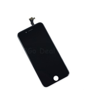 For Apple iPhone 6 Digitizer and LCD Screen Assembly with Frame Replacement - Black, Premium Ori(life time warranty)