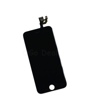 For Apple iPhone 6 Digitizer and LCD Screen Assembly with Frame Replacement - Black(TM)