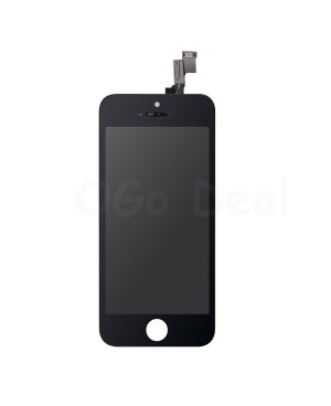 For Apple iPhone 5S/SE Digitizer and LCD Screen Assembly with Frame Replacement - Black, Premium Ori