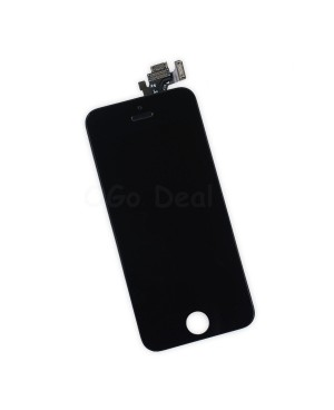 For Apple iPhone 5 Digitizer and LCD Screen Assembly with Frame Replacement - Black(Self Assembly)