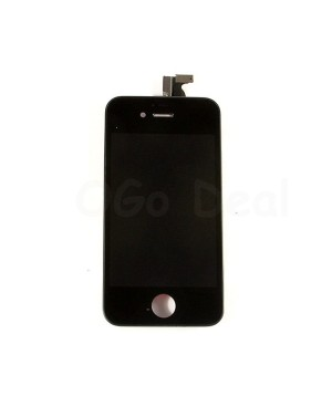 For Apple iPhone 4S Digitizer and LCD Screen Assembly with Frame Replacement - Black