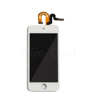 For iPod Touch 5th and 6th Gen LCD Screen and Digitizer  Assembly Replacement - White