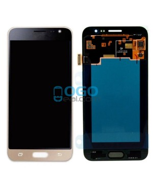 For Samsung Galaxy J3 (2016)  LCD & Digitizer Touch Screen Assembly Replacement - Gold