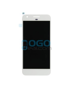 LCD & Digitizer Touch Screen Assembly Replacement for Google Pixel - White