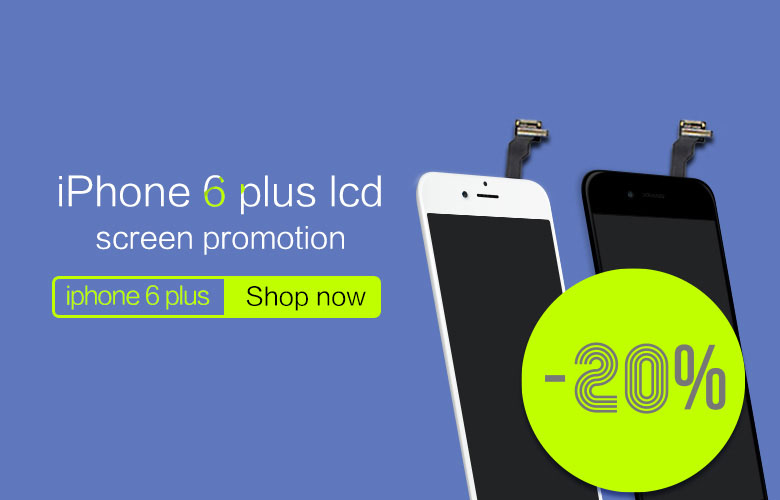 iphone 6 plus lcd screen promotion